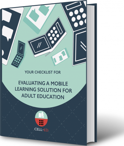 Evaluating a mobile learning solution for adult education