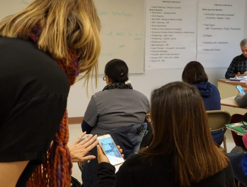 Cell-Ed digital classrooms