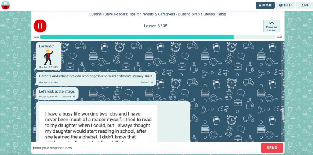 Building Future Readers Web